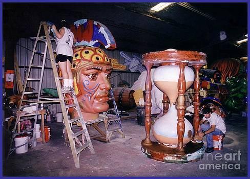 John Malone - Working in the Mardi Gras Shop