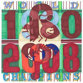 world champion Phils by Jeremiah Iannacci