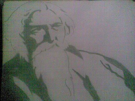 World Famous Poet Rabindranath Tagore by Joydeep Dutta