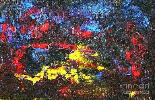 World In Flames by Dmitry Kazakov