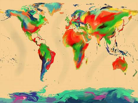 World of Color Map by Andre Pillay