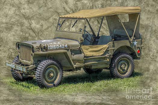 Randy Steele - World War II Era Army Jeep