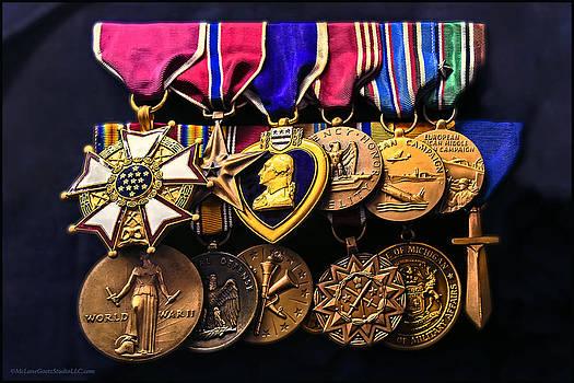 LeeAnn McLaneGoetz McLaneGoetzStudioLLCcom - World War II Metals of honor