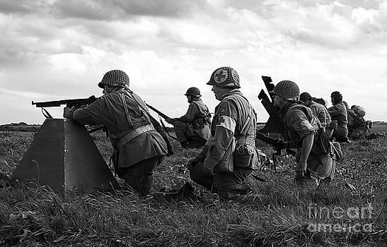 World War Two Re-enactors 2 by Tony Black