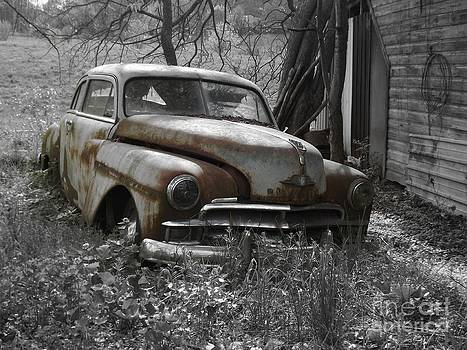 Worn Out Plymouth by Chad Thompson