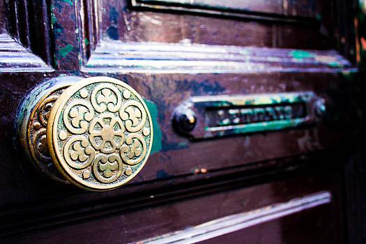 Worn Spanish Door Handle by Calvin Hanson