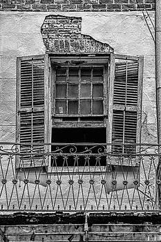Christopher Holmes - Worn Window - BW
