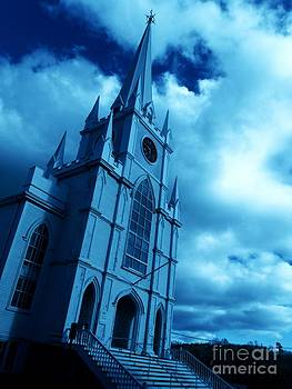Worshiping in Machias Maine by Christy Beal