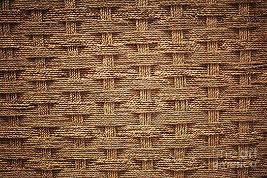 Woven coir by Sanjay Deva