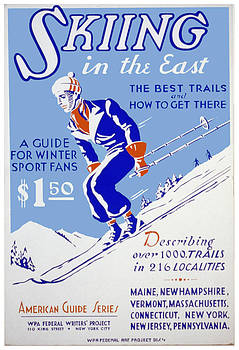 WPA Skiing in the East by David Seguin