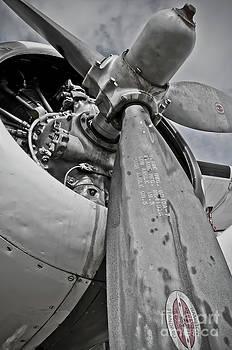 Wright R-1820-82 Cyclone by Charles Dobbs