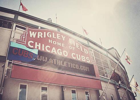 Wrigley Field by Jessie Gould