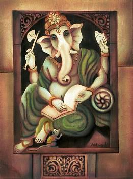 Writing Ganesh by Vishwajyoti Mohrhoff