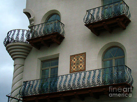 Wrought Iron Balconies by Eva Kato