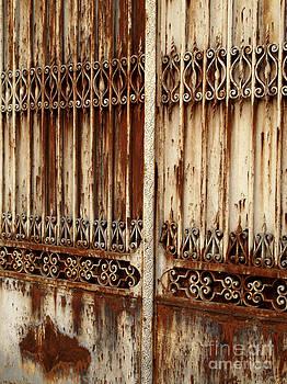 BERNARD JAUBERT - Wrought iron portal