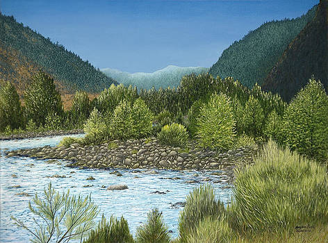 Wyoming Vista by Mary Ann King