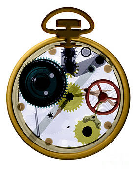 Bert Myers - X-ray Of A Pocket Watch