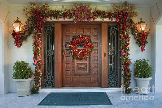 David Zanzinger - Xmas Wreath on Door