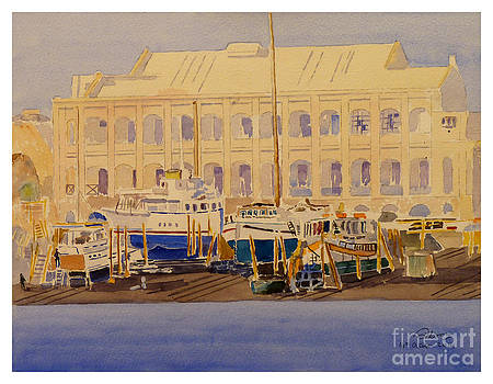 Yacht Yard by Godwin Cassar