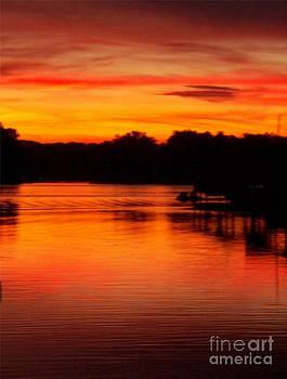 Yankee Sunset by Sarah Card