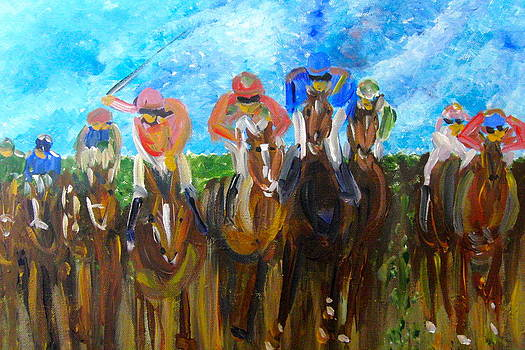 Yankee Yearling  by Francisco Sanchez Salas