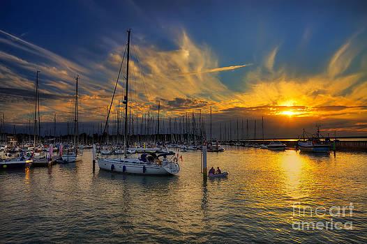 English Landscapes - Yarmouth Sundown