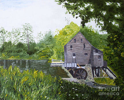 Yates Mill Summer by Kevin Croitz