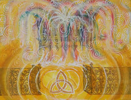 Anne Cameron Cutri - Yaweh El Shaddai Top Canvas detail