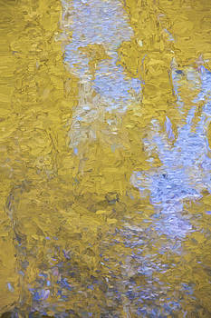 David Letts - Yellow Abstract