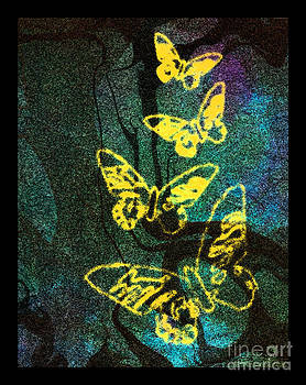 Yellow Butterflies by Christine Perry