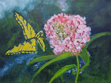 Yellow Butterfly by Marita McVeigh