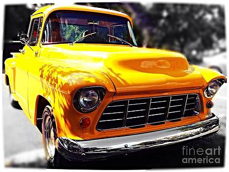 Yellow Chevy by Garren Zanker