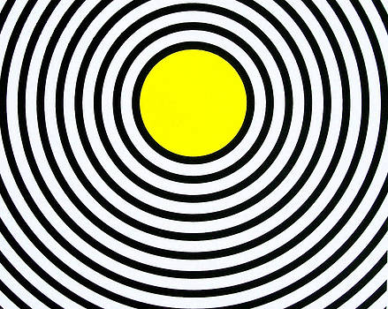 Yellow Circle by Scott Shaver