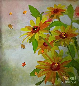 Liane Wright - Yellow Daisy Flowers