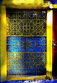 Yellow Doorway by Cindy Bray