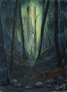 Yellow Forest by Gloria E Barreto-Rodriguez