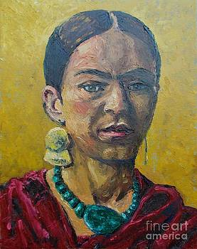 Yellow Frida by Lilibeth Andre