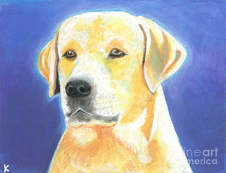 Yellow Labrador by Aaron Koster