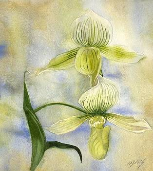 Alfred Ng - yellow ladyslipper orchid
