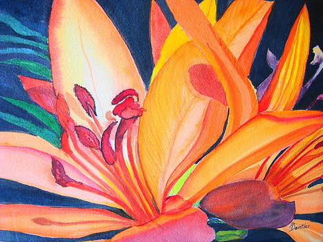 Yellow Lily by AnnE Dentler