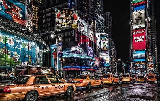 Yellow New York by Oleg Koryagin
