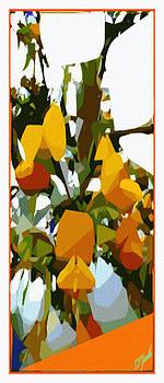 Yellow Pop Flowers by Ck Gandhi