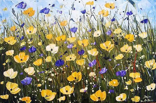 Yellow Poppis by Jolina Anthony