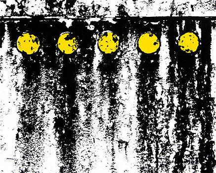 Yellow Rivits by Scott Shaver