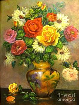 Yellow Rose by Carol Bitz