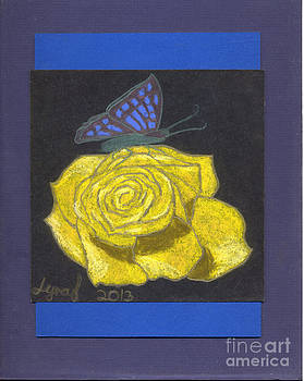 Yellow Rose by Lyra's Prism