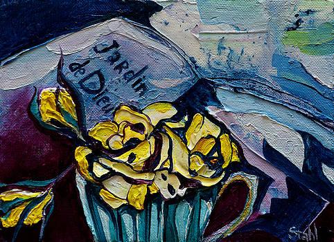 Yellow rose by Natalia Stahl