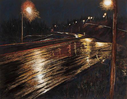 Yellow Slick Road by Jocelyn Paine