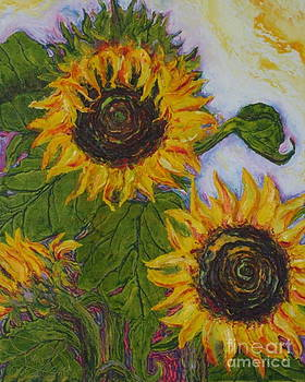 Yellow Sunflowers by Paris Wyatt Llanso