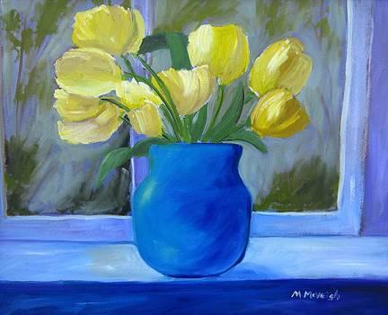 Yellow Tulips by Marita McVeigh